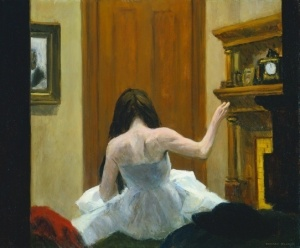 An example of someone not-failing. Edward Hopper, New York Interior